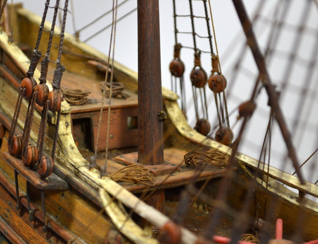 Ship Model, The Halve Maen (The Half Moon) - 6