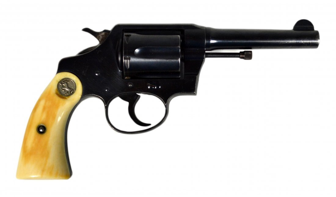 Colt Police Positive 38 Special, 1925-26