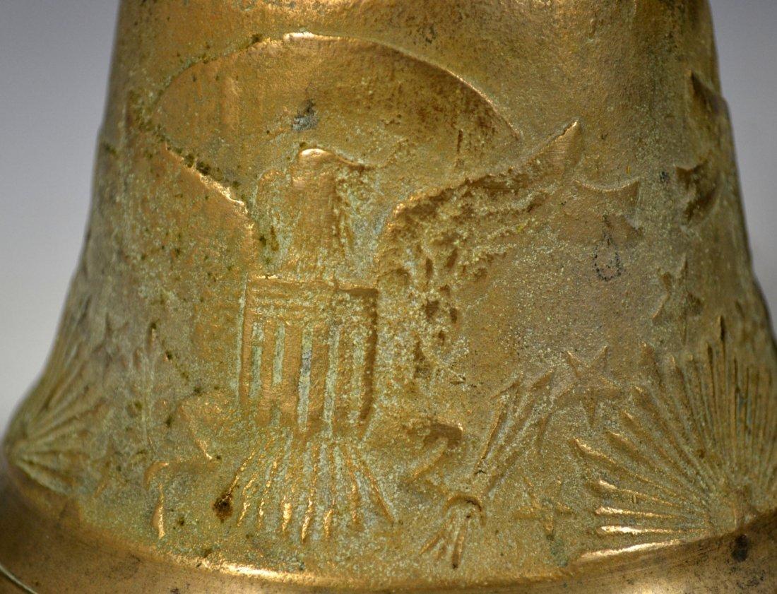Pair of Brass Bells, U.S. Camel Corps - 2