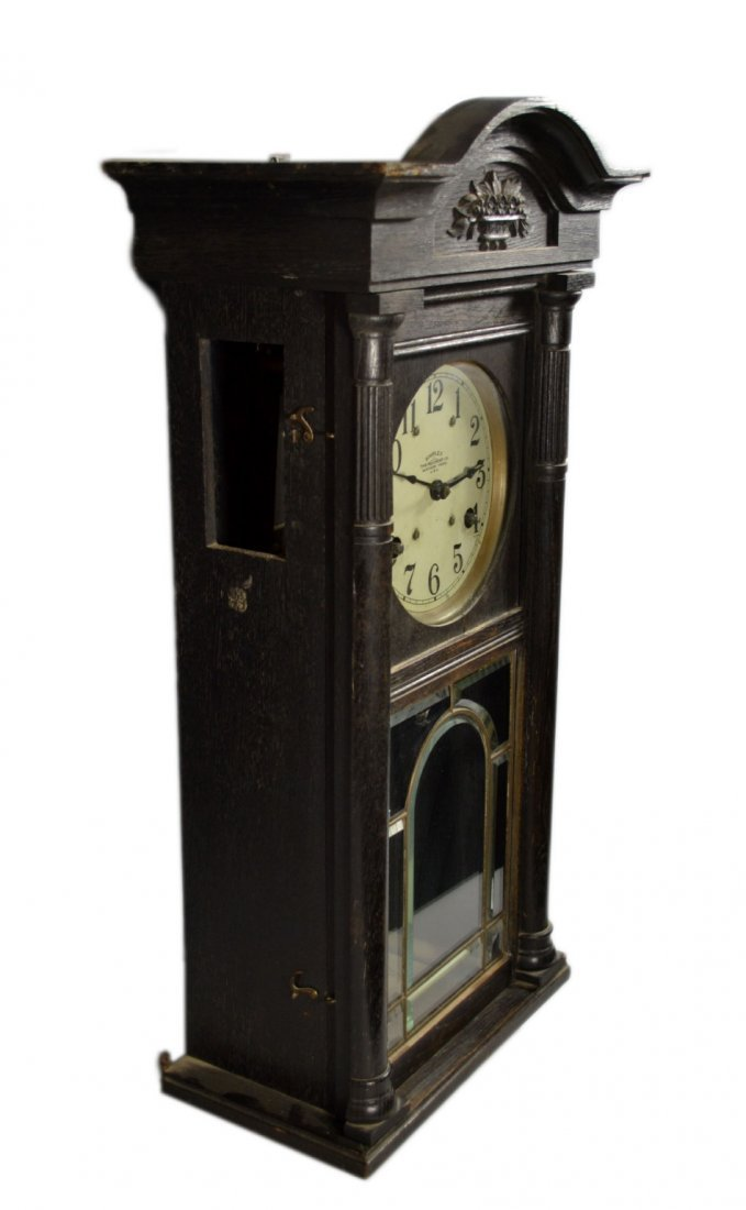 Wall Clock, Simplex Time Recorder Co. - 4