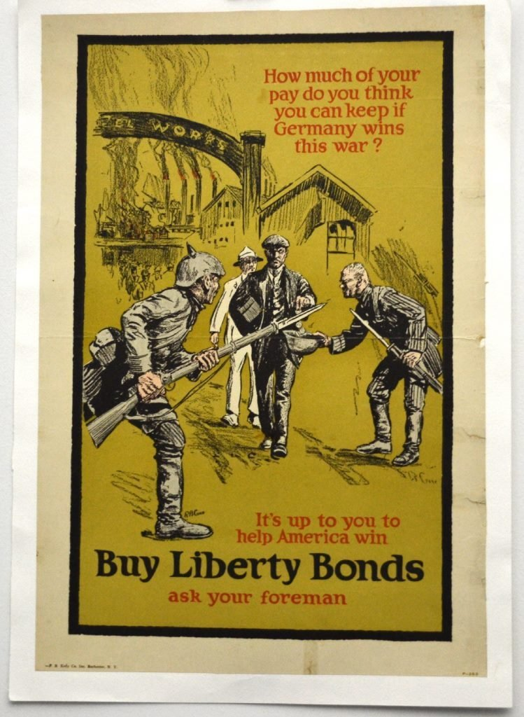 WWI It's Up To You to Help America Win