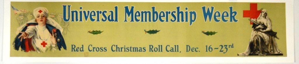 WWI Universal Membership Week, Red Cross