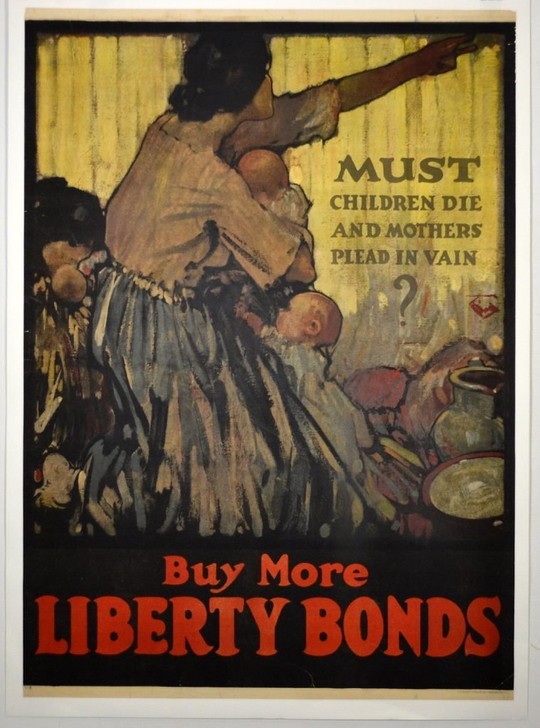 WWI Must Children Die and Mothers Plead in Vain