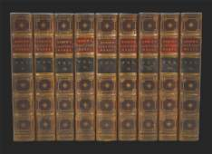 """Books, 9 Vol, """"The Poetical Works of Lord Byron"""""""