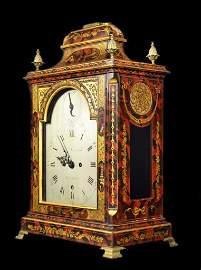 Shelf  Clock, English, Chinoiserie, c.1770