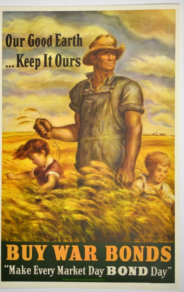 WWII Our Good Earth Keep it Ours, J.S. Curry