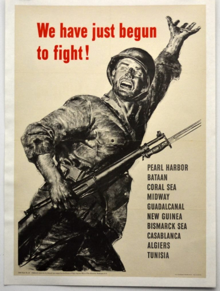 WWII We Have Just Begun to Fight!