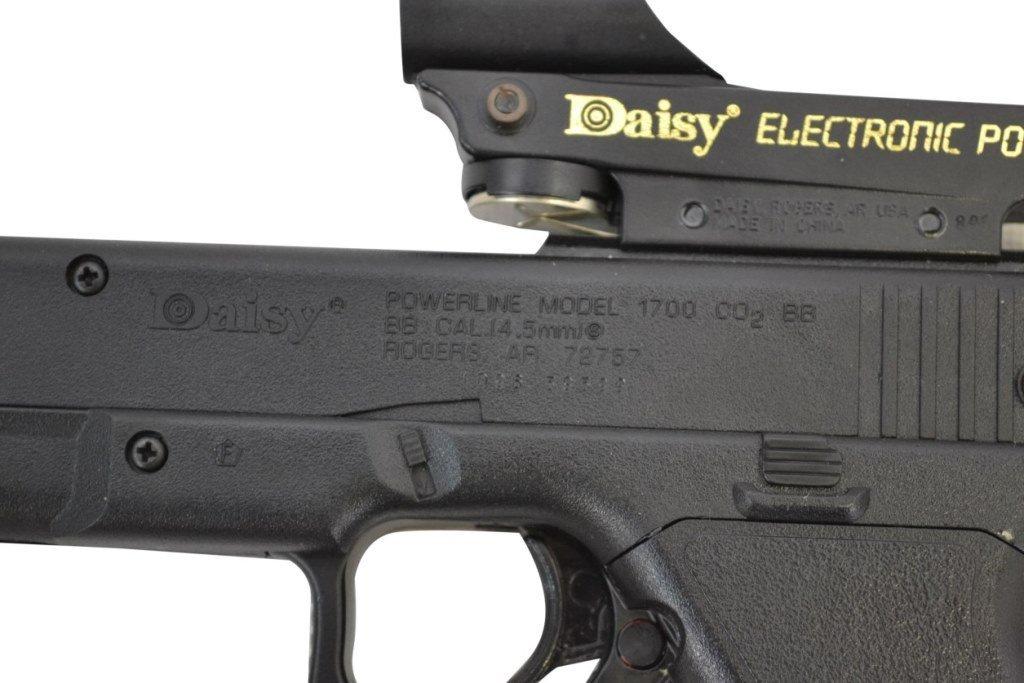 BB Gun Pistol, Daisy, ELectronic Point Sight - 10
