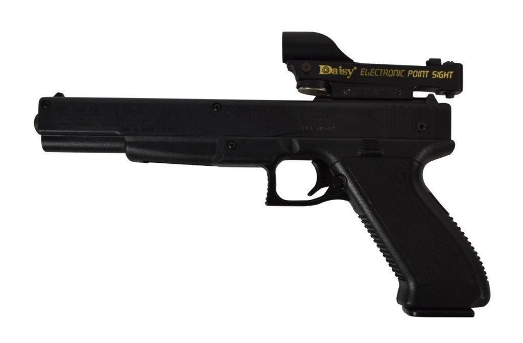BB Gun Pistol, Daisy, ELectronic Point Sight