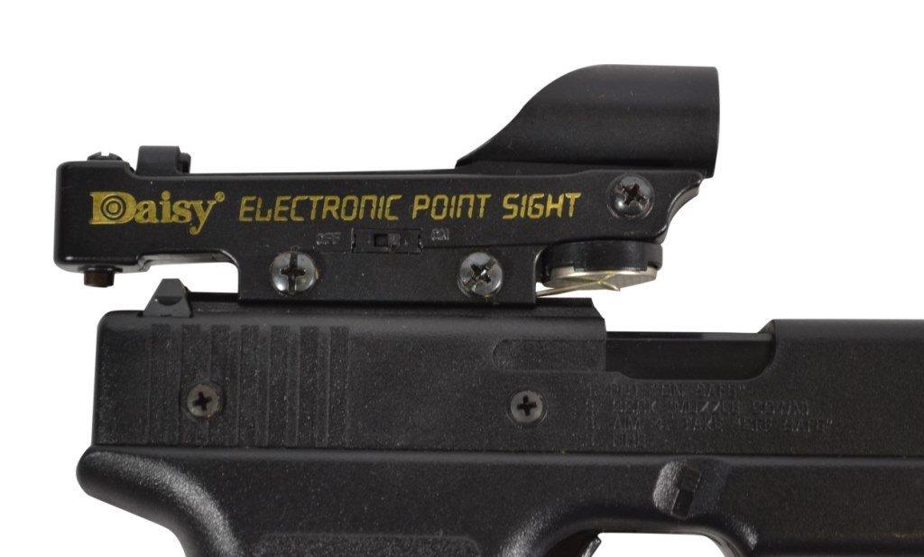 BB Gun Pistol, Daisy, ELectronic Point Sight - 4