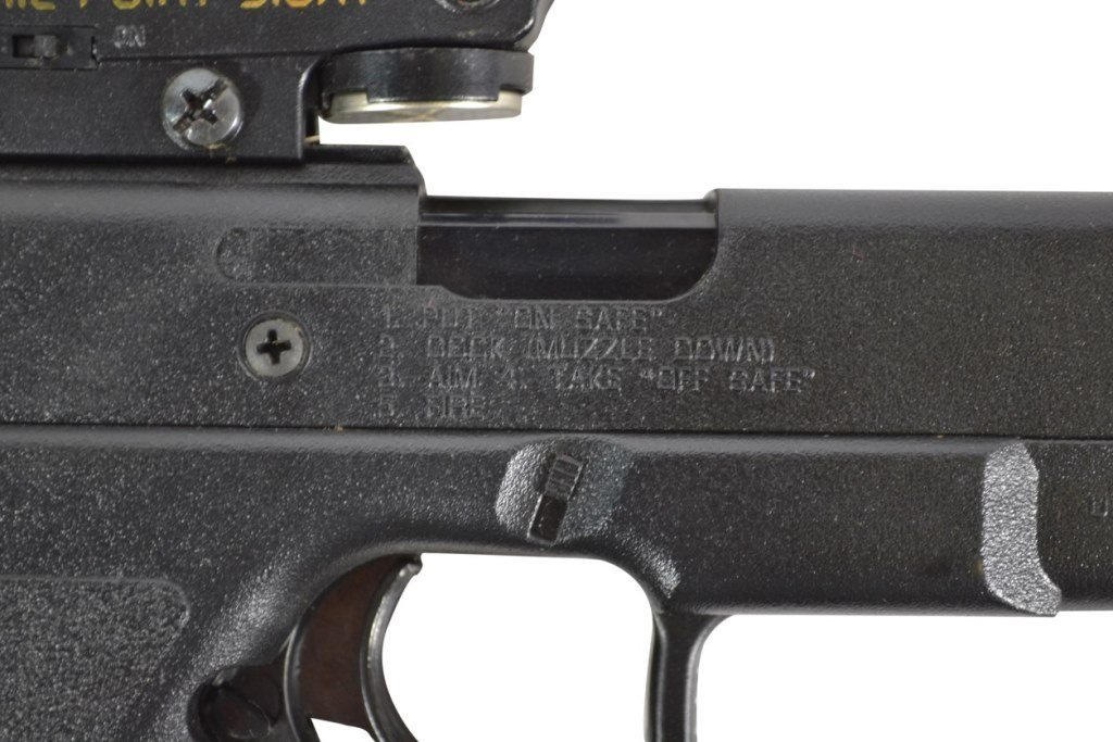 BB Gun Pistol, Daisy, ELectronic Point Sight - 5