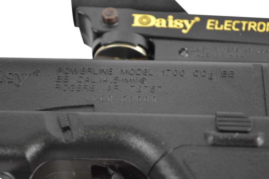BB Gun Pistol, Daisy, ELectronic Point Sight - 9