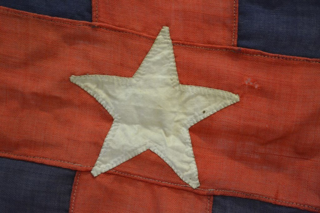 NYYC Burgee, Commodore E.M. Brown, 1895 - 4