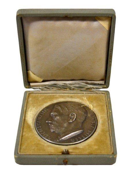 Medal, Adolf Hitler, German, Silver - 2