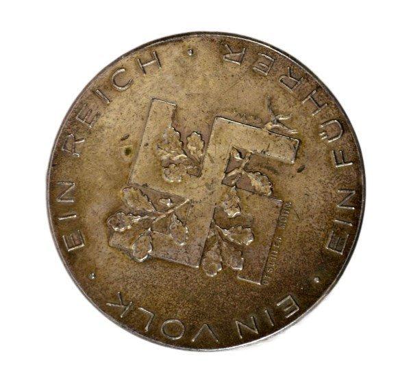 Medal, Adolf Hitler, German, Silver - 3