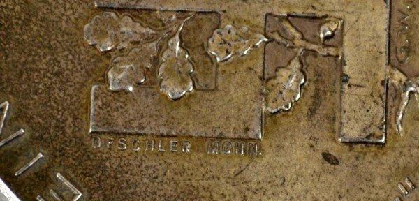 Medal, Adolf Hitler, German, Silver - 4
