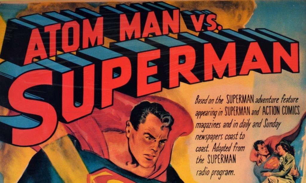 "Movie Poster, ""Atom Man vs. Superman"" 1950 - 2"