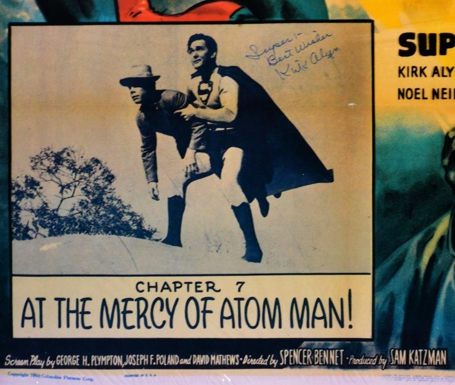 "Movie Poster, ""Atom Man vs. Superman"" 1950 - 3"