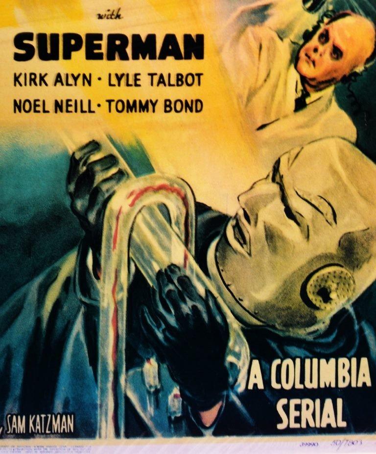 "Movie Poster, ""Atom Man vs. Superman"" 1950 - 4"
