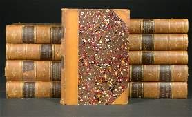 Books 10 Vols Carlyles Works Dahlgren owned