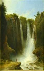 O/B Peyton Falls, VA  by John G. Chapman 1863