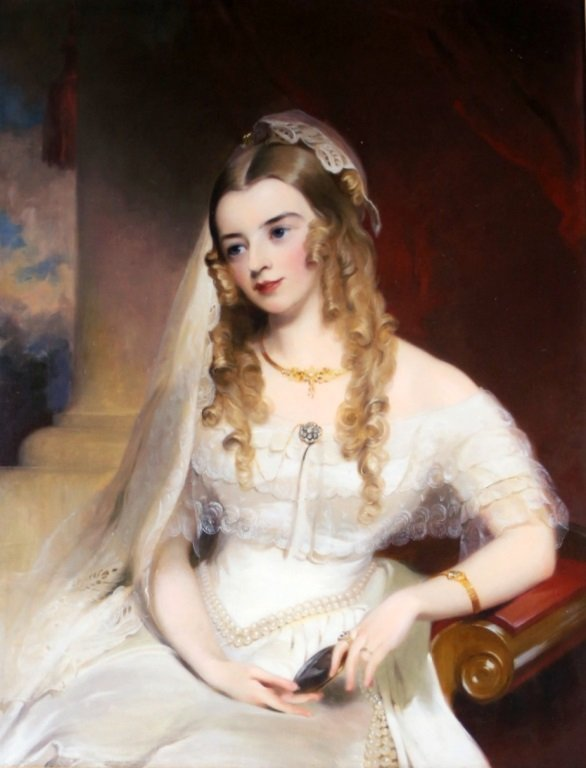O/C Thomas Sully, Janney collection, dress etc.