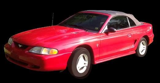 1996 Mustang Convertible, 45,500 miles