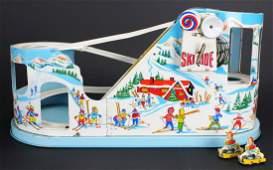 Chein Toys Ski Ride Roller Coaster Tin