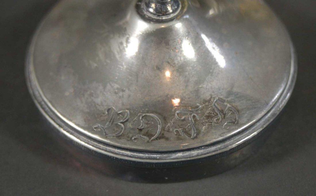 Pickle Jar Amber glass jar, tongs, carrier - 4