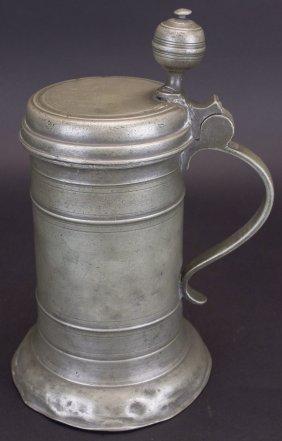 Tankard, Tavern, Pewter, D. 1788