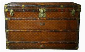 Trunk, Louis Vuitton, c. late 19th C