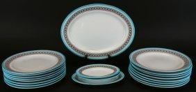 Royal Worcester Dinner Plates, Platter, 1878