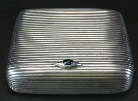 Sterling Multi-fold Cigarette,georg Adam Scheid