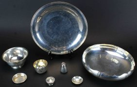 Eight Piece Sterling Silver Set