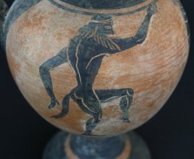 Reproduction? Greek Vase Black Figure