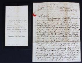 Letters, Seth Ledyard Phelps To Peru, 1884-5