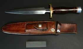 "Randall M- 2, Fighting Stiletto, 8"" Blade, Sheath"