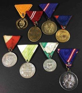 Republic Of Austria, 8 Various Medals