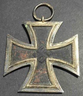Nazi German W.w. Ii 1939 Iron Cross 2nd Class