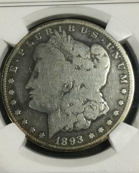 1893-o Morgan $1 G4 Ngc