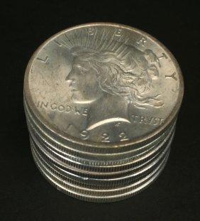 (9) Piece $1 Cull-bu