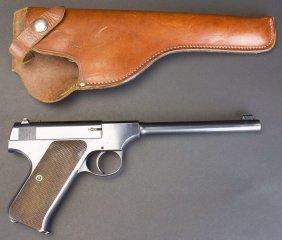 Colt, Woodsman, .22 Cal, C.1924, Orig Holster*ffl