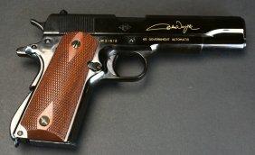 Franklin Mint John Wayne Commerative1911a1 Pistol