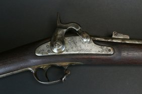 Civil War Musket, 1865 U.s. Norwich Union