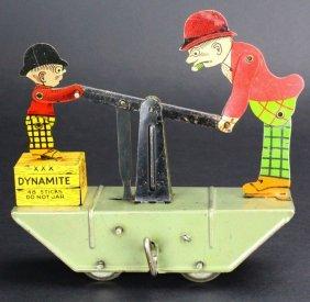 Marx Toys, Moon Mullins & Kayo, Tin