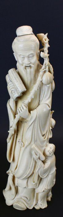 Chinese Carved Ivory Circa, 1930