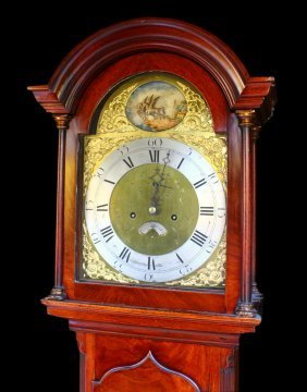 English Tall Case Clock, Thomas Lake, C.1800