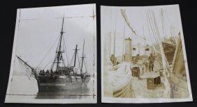 Photographs( 2), Uss Bear, Boston Navy, Antarctic