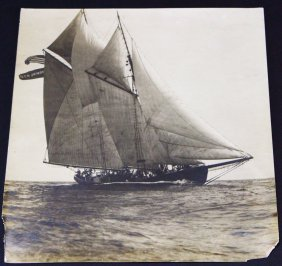 Photograph, Morning Star, Ship, C. 1880