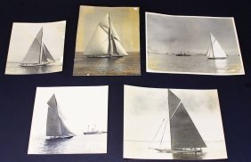 Photographs, 5, Yachts, America's Cup, 1920
